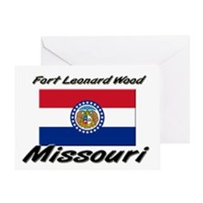 Fort Leonard Wood Missouri Greeting Card