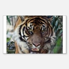Jungle Cat Rectangle Decal