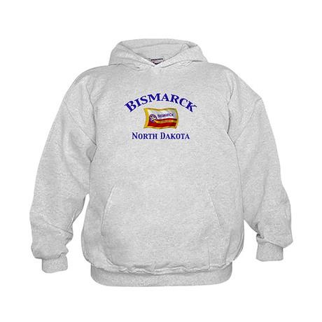 Bismarck, North Dakota Kids Hoodie