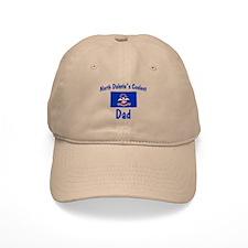 Coolest N Dakota Dad Baseball Cap