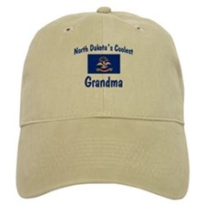 Coolest N Dakota Grandma Baseball Cap