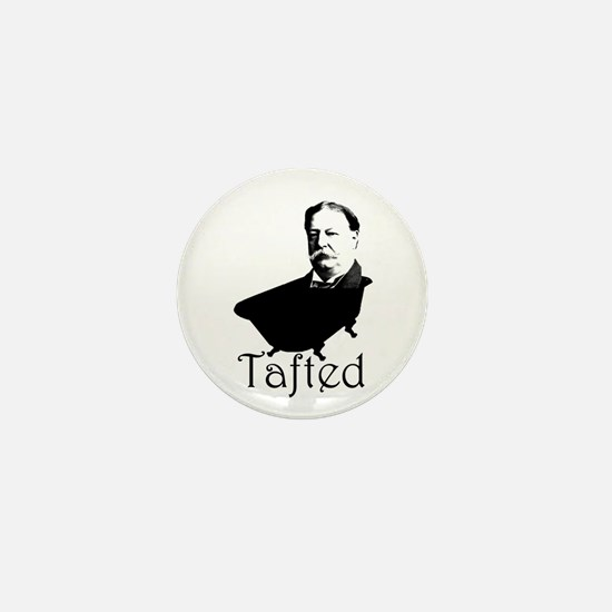 Taft in the Tub Mini Button