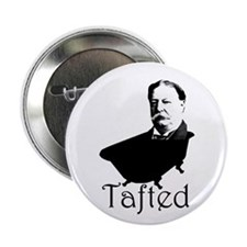 """Taft in the Tub 2.25"""" Button (10 pack)"""