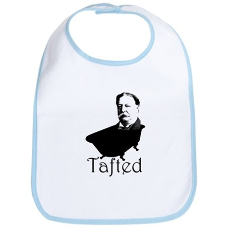Taft in the Tub Bib