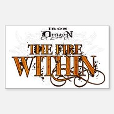 "Sticker of the ""Fire Within"""