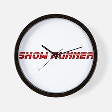 TV Producer's Wall Clock