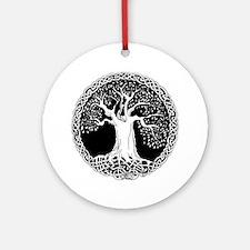 Celtic Tree of Life Ornament (Round)