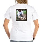 Save a Life = Go to Jail Women's V-Neck T-Shirt
