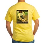 Save a Life = Go to Jail Yellow T-Shirt