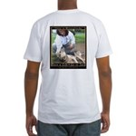 Save a Life = Go to Jail Fitted T-Shirt