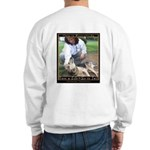 Save a Life = Go to Jail Sweatshirt