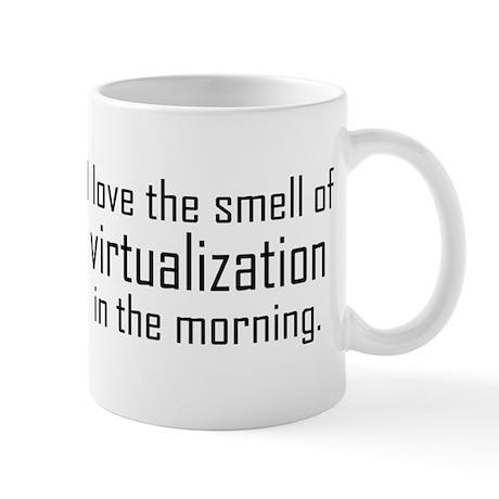 I Luv The Smell of Virtualiza Mug