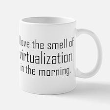 I Luv The Smell of Virtualiza Small Small Mug
