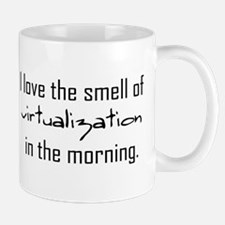 Luv The Smell Of Virtual v2... Mug
