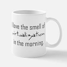 Luv The Smell Of Virtual v2... Small Small Mug