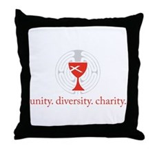 Unique The labyrinth Throw Pillow