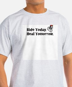 Ride Today T-Shirt (Gray)
