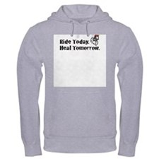 Ride Today Hoodie (Gray)