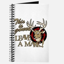 This is Gonna Leave a Mark Deer Hunting Journal