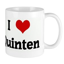 I Love Quinten Mug