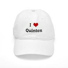 I Love Quinten Baseball Cap