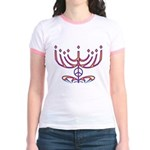 Menorah Jr. Ringer T-Shirt