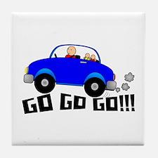 GO GO GO!!! Tile Coaster
