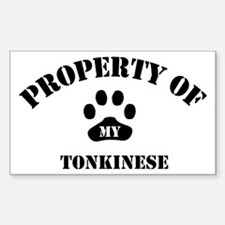 My Tonkinese Rectangle Decal