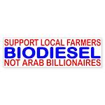 SUPPORT LOCAL FARMERS NOT ARAB BILLIONAIRES