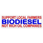 SUPPORT LOCAL FARMERS NOT RICH OIL COMPANIES