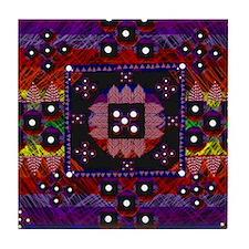 String Art Mini Game Board Tile Coaster