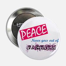"Peace Fashion 2.25"" Button"