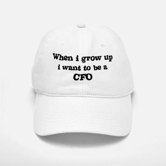 Be A CFO Baseball Baseball Cap