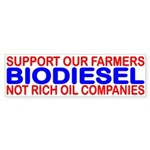 SUPPORT OUR FARMERS NOT RICH OIL COMPANIES