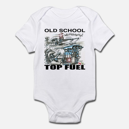 """OLD SCHOOL TOP FUEL"" Shirts! Infant Bod"