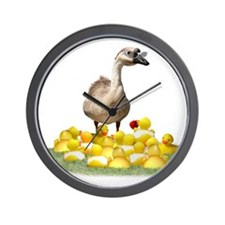 Duck teacher Wall Clock