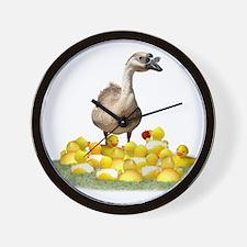 Funny Teacher duck Wall Clock
