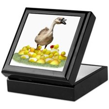 Funny Duck teacher Keepsake Box