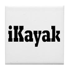 Unique Kayak Tile Coaster