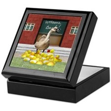 Duck teacher Keepsake Box