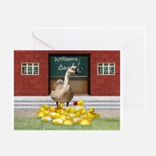 Cool Duck teacher Greeting Card