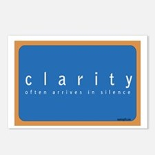 Clarity Mind Postcards (Package of 8)