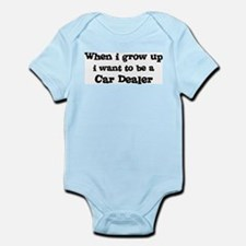 Be A Car Dealer Infant Creeper