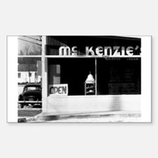 McKenzie's -- Airline Highway Rectangle Decal