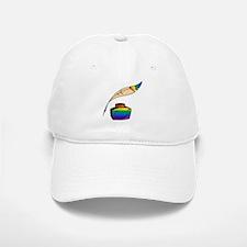 Rainbow Writer Baseball Baseball Cap