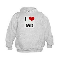 I Love MD Hoodie