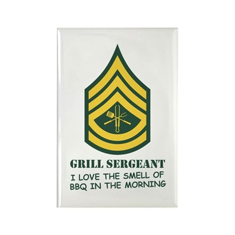 Grill Sgt. Rectangle Magnet (100 pack)
