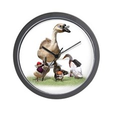 Funny Duck teacher Wall Clock