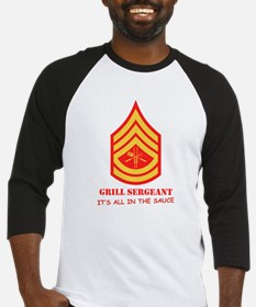 Grill Sgt. Baseball Jersey