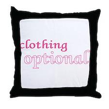 Optional (Pink) Throw Pillow